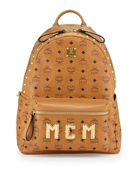 Luxury Home Interior Designers mcm stark m collection studded backpack cognac