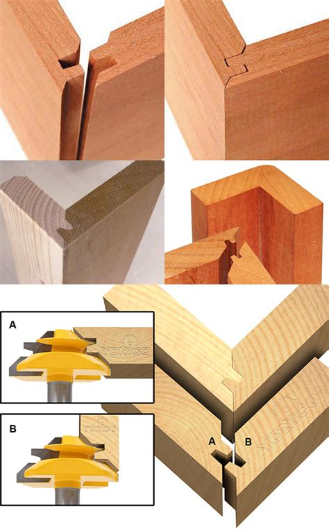 joinery    cut  corner joint woodworking