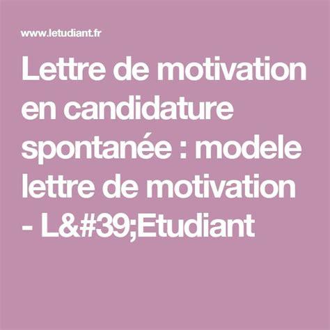 Plus De 25 Id 233 Es Uniques Dans La Cat 233 Gorie Lettre Spontan 233 E Sur Lettre De Motivation