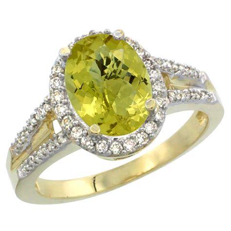 2 72 ctw lemon quartz engagement ring
