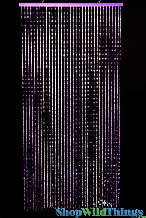 purple beaded curtains wild things