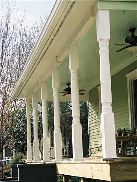 Decorative Porch Posts by Architectural Columns Ideas For Porches Gardens And