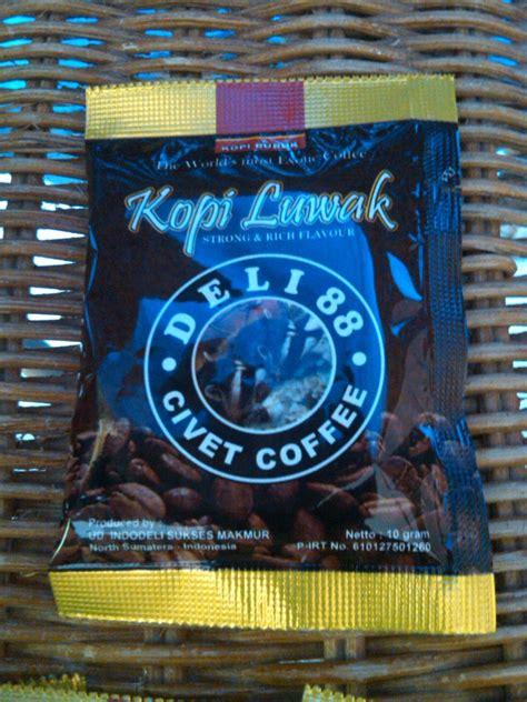 Kopi Luwak 10gr kopi luwak civet coffee 10gr sachet