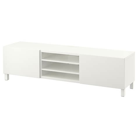 Besta Tv Bench With Drawers best 197 tv bench with drawers lappviken white 180x40x48 cm ikea
