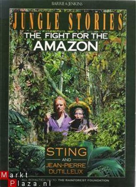 the sting of the books jungle stories the fight for the by sting