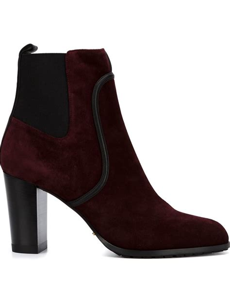 sergio chunky heel ankle boots in lyst