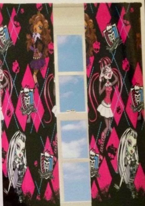 monster high curtains 1000 ideas about high curtains on pinterest ivory