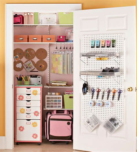 Craft Closet Organization Ideas by Inspiration Craft Closet Organization The Inspired Room