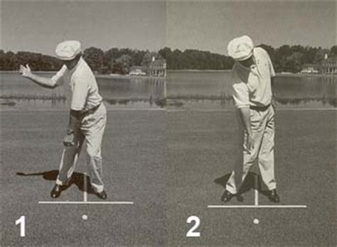 peter croker golf swing left arm