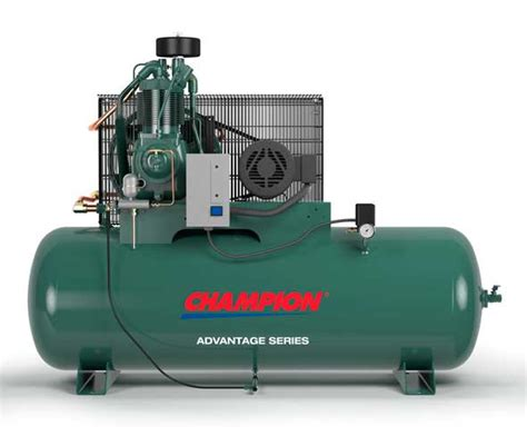 champion  hp  gallon horizontal advantage series compressor air compressor repair chicago