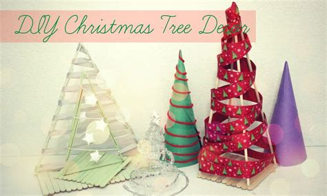 christmas desk decoration ideas diy christmas trees festival desk decor popsicle stick