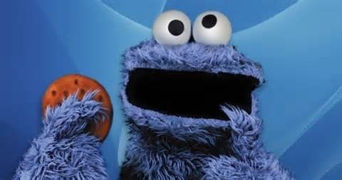 Is for cookie monster modern day betty crocker