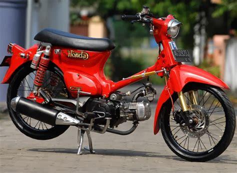 cat warna c70 modifikasi motor terbaru foto dan gambar motor modifikasi honda pitung c70 paling keren