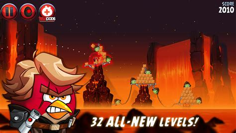 angry birds star wars 2 update angry birds star wars ii update adds 8 secret levels and 4