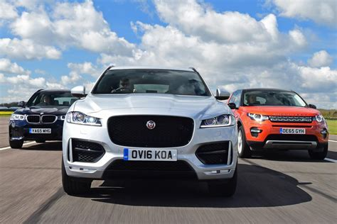 jaguar f pace vs land rover discovery sport vs bmw x3