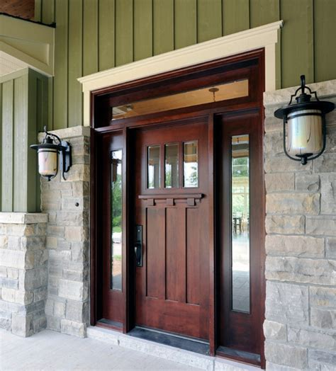 Solid Wooden Front Doors Strong And Secure Solid Wood Entry Doors Inhabit