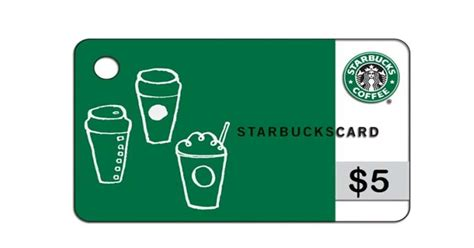 Starbucks Gifts Card - its back free f r e e free 5 00 starbucks gift card