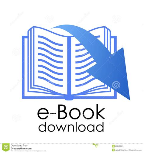 book free download e book symbol stock photography image 28048852
