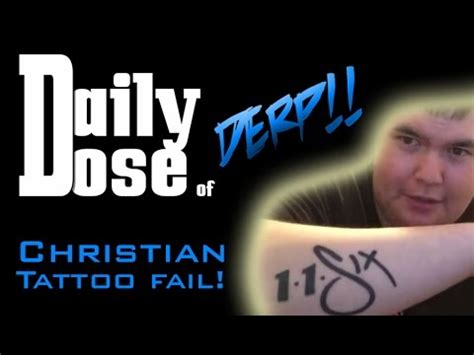christian tattoo fail daily dose christian tattoo fail creamy milk youtube