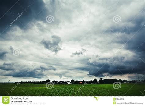 Landscape Photography In Cloudy Weather Landscape Cloudy Weather Stock Photo Image 50442614