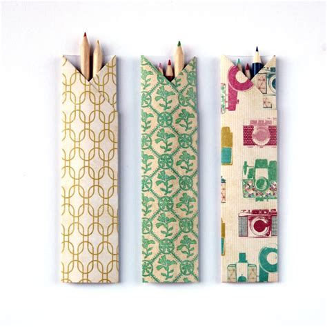 How To Make A Origami Pencil - back to school in style 25 gorgeous pencil holder designs