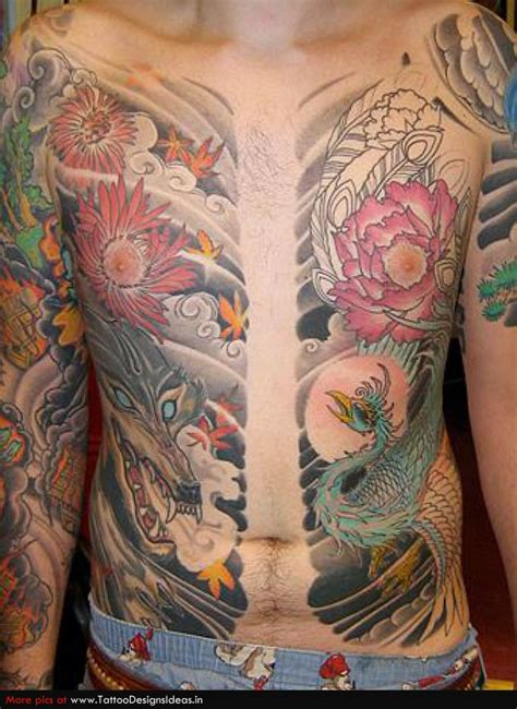 japanese wolf tattoo tattoos wolf tattoos for