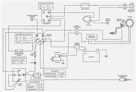 deere 110 motor wiring diagram wiring diagram