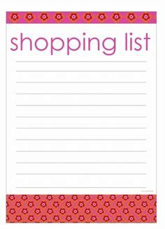 shopping list template for children grocery lists on grocery shopping lists