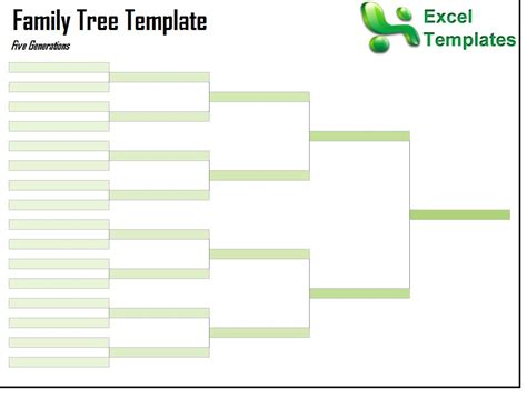 template of a family tree family tree template family tree templates you can type in