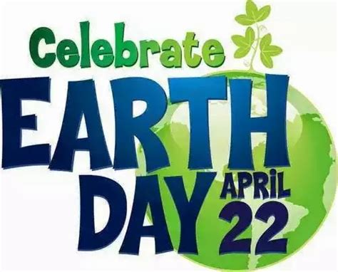 Earth Day 4 celebrate earth day today and every day pied type