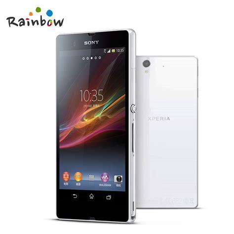 Hp Sony Xperia Z L36h 100 original sony xperia z l36h c6603 c6602 mobile phone
