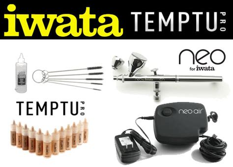 Temptu 2 0 Plus Kit airbrush compressor for makeup fay