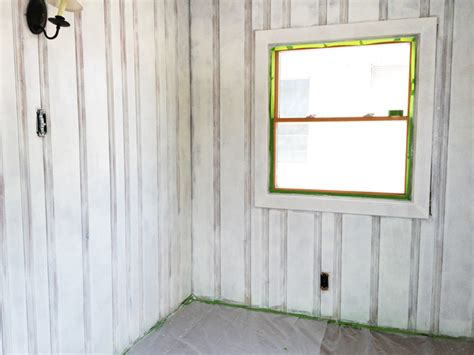how to paint over paneling how to paint paneling dsc1125 before after painted