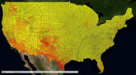 america heat map censusviewer screenshots and exle images