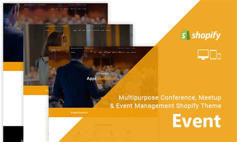 Shopify Event Themes | event multipurpose conference meetup event management