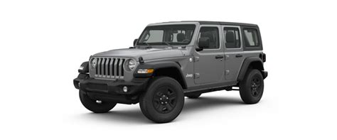 jeep gray color exterior and and top 2018 jeep wrangler color