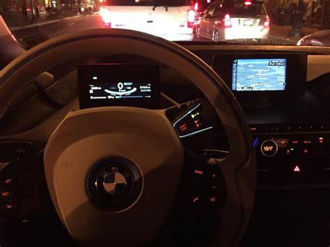 bmw dashboard at night bmw i3 review a city car for the future ars technica