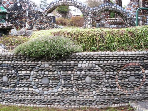 Debra Prinzing 187 Attachment 187 Pebble Retaining Wall With Rock Garden Seattle