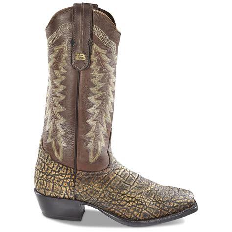 elephant boots tony lama s black label elephant cowboy boots 654139