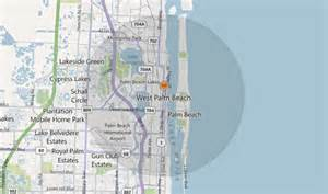 map of west palm florida pest and exterminator services in west palm