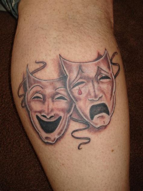 theatre tattoo designs pin theatre masks of course on