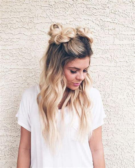 beautiful hairstyles buns best 25 cute bun hairstyles ideas on pinterest cute