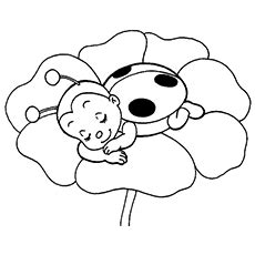 coloring pages ladybug girl image gallery ladybug coloring pages