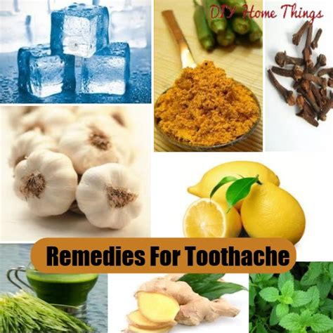effective diy home remedies for toothache diy home things