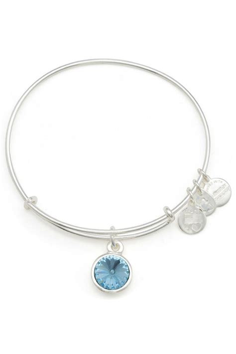november birthstone alex and ani alex and ani march birthstone bracelet from arizona by