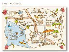 How To Draw A Map hand drawn maps for wedding guests tell your guests where