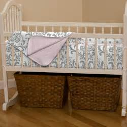 Cradle Bedding Sets Pink And Gray Traditions 3 Cradle Bedding Set Carousel Designs