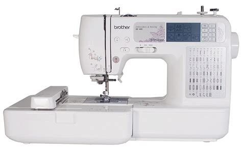 Review: Brother SE400 Combination Computerized Sewing and