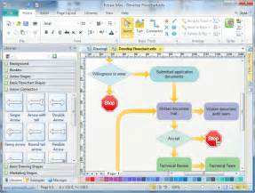 Microsoft Excel 2010 Flowchart Template by Flow Chart Template For Word 2010