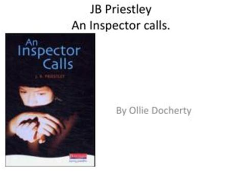 themes in an inspector calls powerpoint ppt an inspector calls powerpoint presentation id 225479